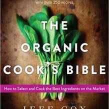 """The Organic Cook's Bible"" book cover"