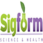 Green and Purple Sigform logo