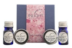 Inlight Skincare Body Beautiful Kit Box and Products