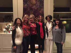 Trina Becksted and friends at her annual Goddess Soiree in Scottsdale