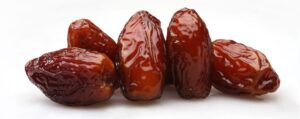 Pile of date fruits