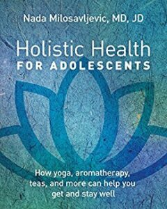 "book cover for ""Holistic Health for Adolescents"""