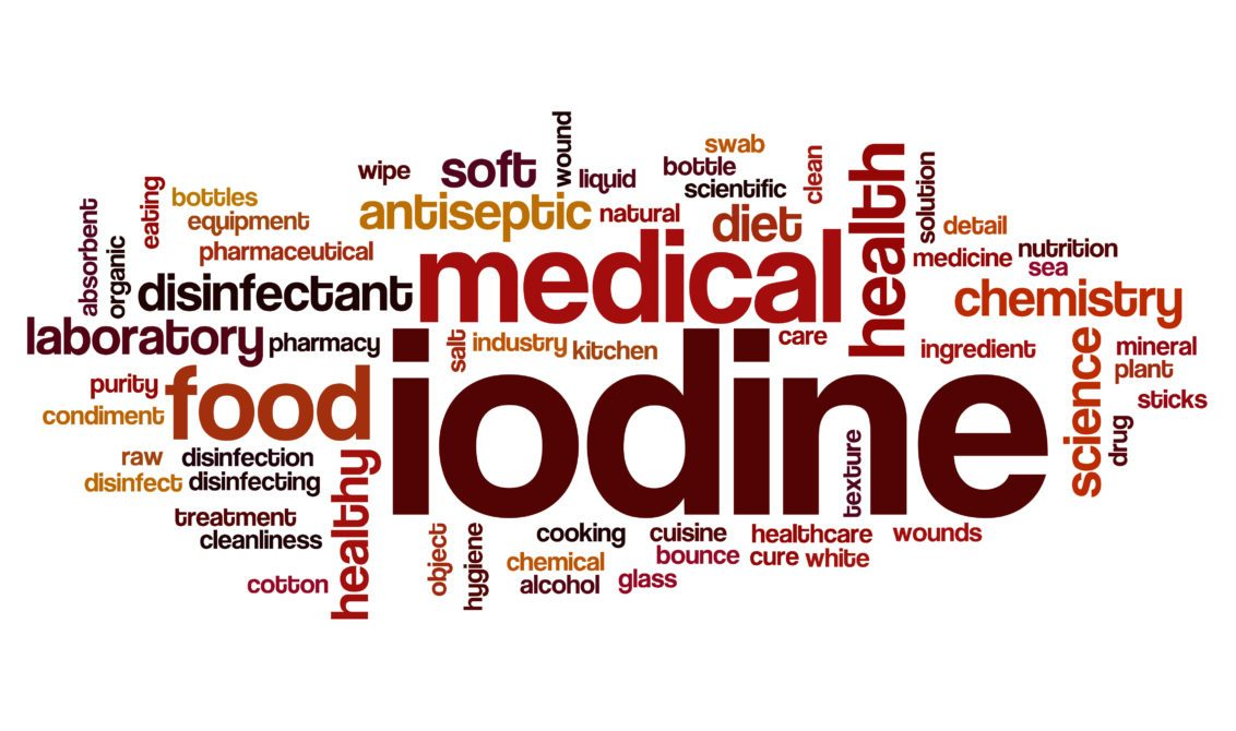 Iodine deficiency medical health antiseptic diet