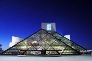 Rock Hall of Fame in Cleveland, Ohio