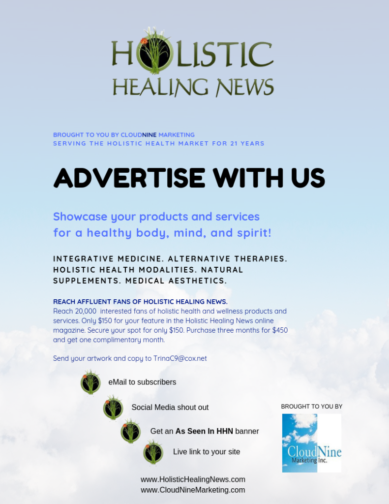 advertise with Holistic Healing News
