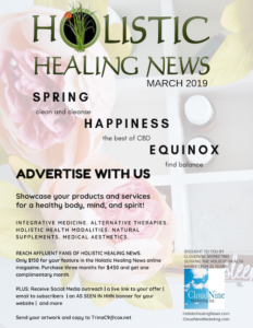 Holistic Healing News Advertising Flier