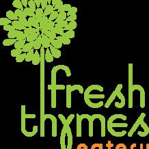 Fresh Thymes eatery logo