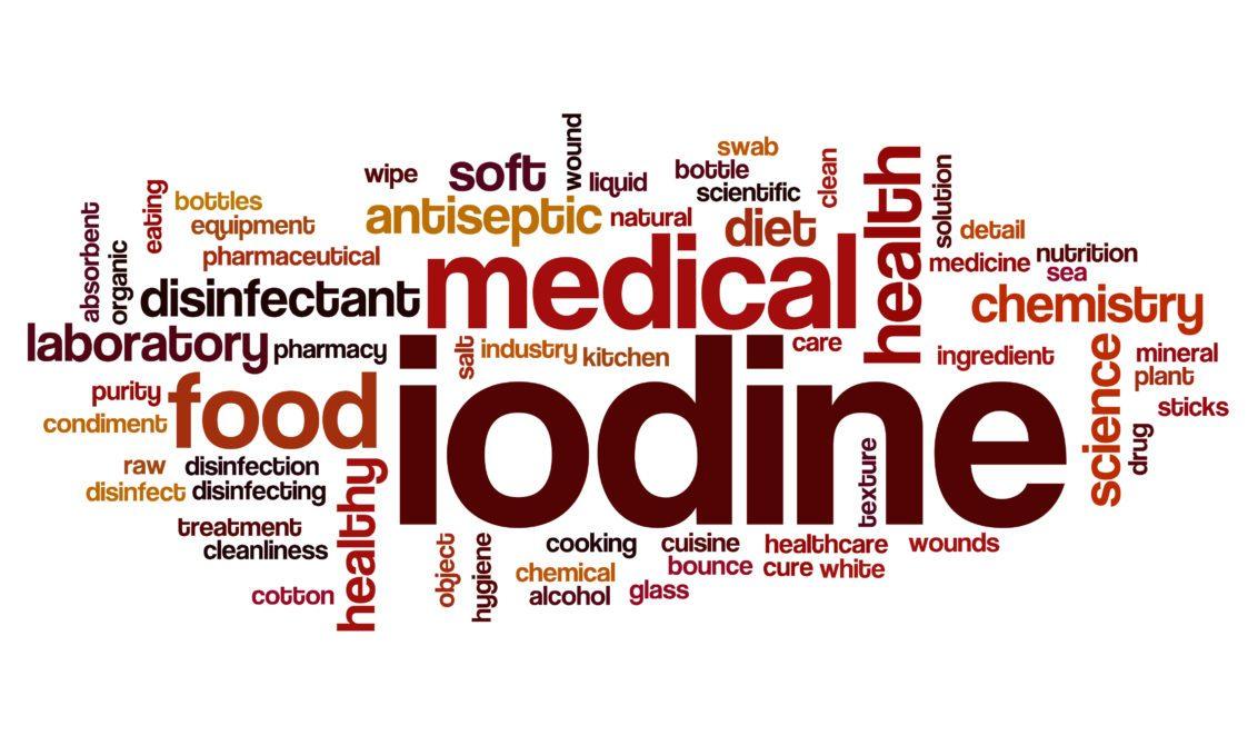 Iodine deficiency medical health antiseptic diet